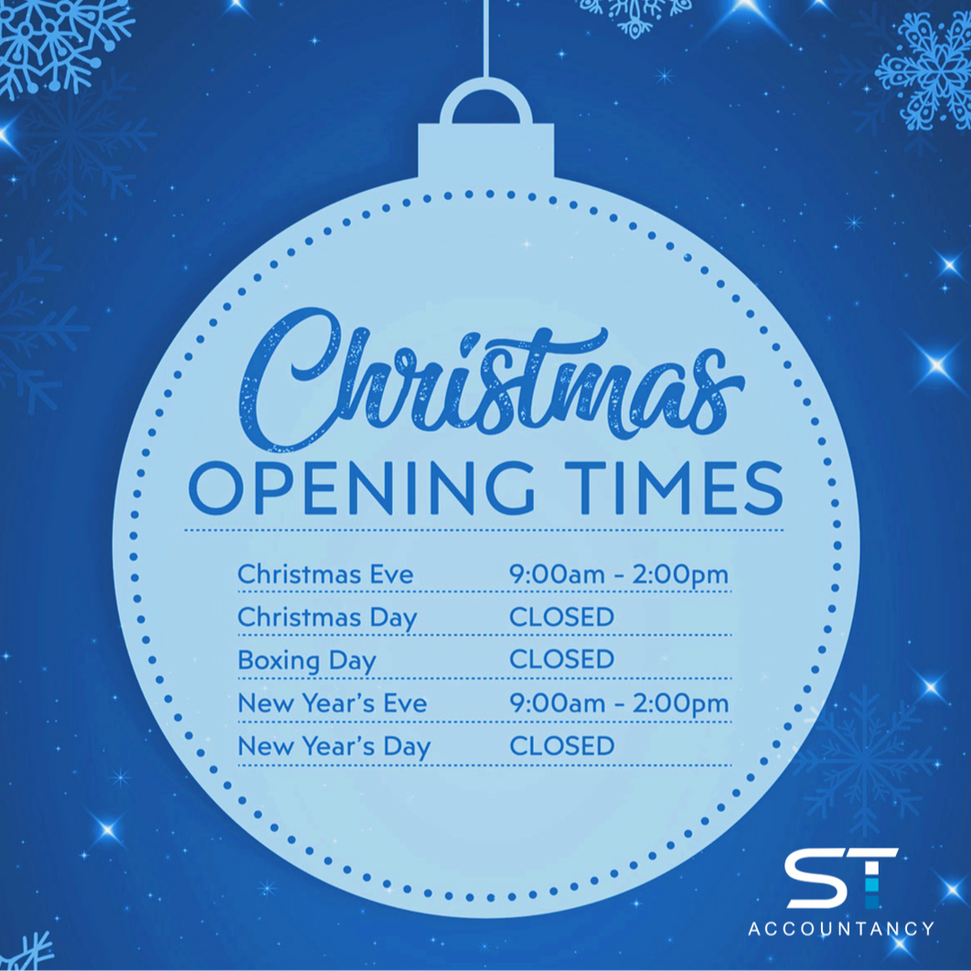 Christmas Opening Times | New Year